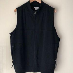 Women's zip up vest